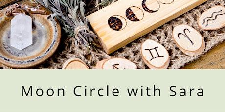 Moon Circle with Sara biljetter