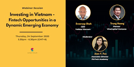 Investing in Vietnam - Fintech Opportunities in a Dynamic Emerging Economy tickets