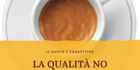 Percorso sensoriale sul caffè espresso biglietti