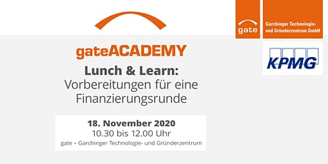 Lunch & Learn: Finanzierungsrunde vorbereiten Tickets
