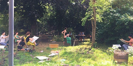 Art-Expression Workshops' Life-Drawing Meetups in September Tickets