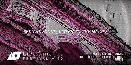 Live Cinema Festival w. Tarik Barri & Lea Fabrikant + Marco Monfardini biglietti