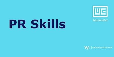 Skills Academy Webinar: PR Skills