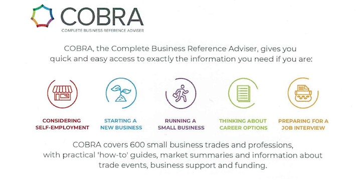 Using COBRA for your Business Research (online) (Bexley) image