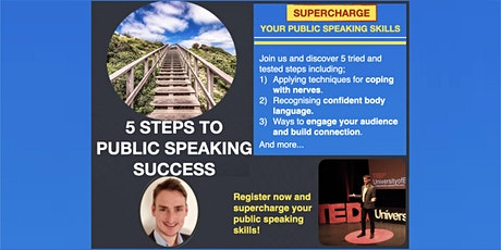 5 Steps to Public Speaking Success [ONLINE] tickets