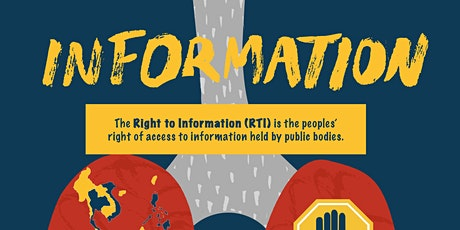 Roadshow on Right to Information Legislation - JOHOR tickets