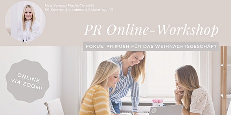 "PR Academy: PR Workshop (online) ""The Christmas Edition"" Tickets"