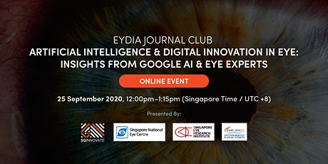 EyDIA Journal Club: Insights from Google AI and Eye Experts Tickets