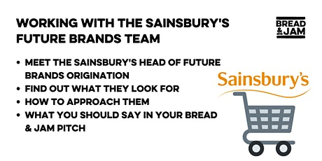 Working with the Sainsbury's Future Brands Team tickets