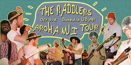 The Raddlers | Aroha Nui Tour // Dunedin tickets