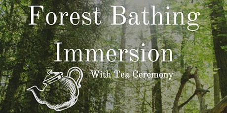 Forest Bathing Immersion tickets