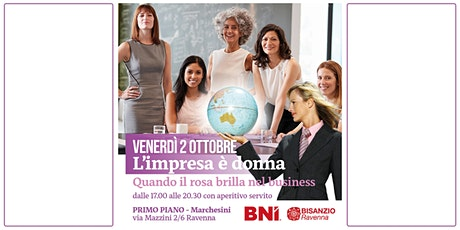 L'impresa e' donna - quando il rosa brilla nel business tickets