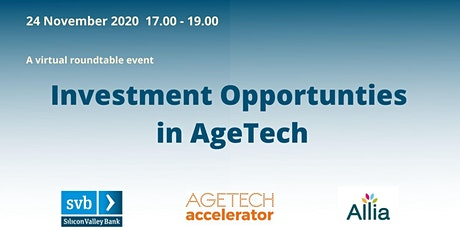 Investment Opportunities in AgeTech tickets