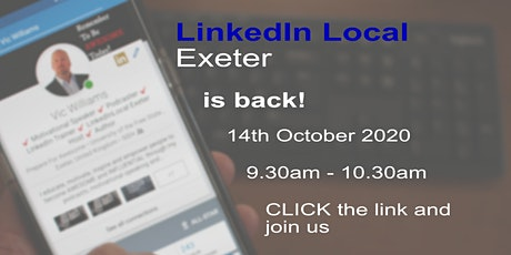 LinkedIn Local Exeter tickets