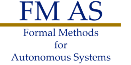 Second Workshop on Formal Methods for Autonomous Systems Tickets