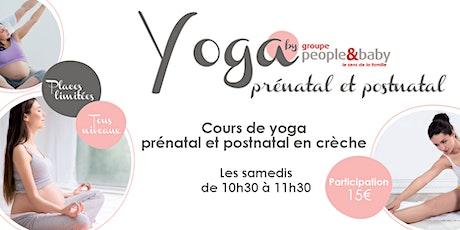 Yoga prénatal en crèche - Grenoble billets