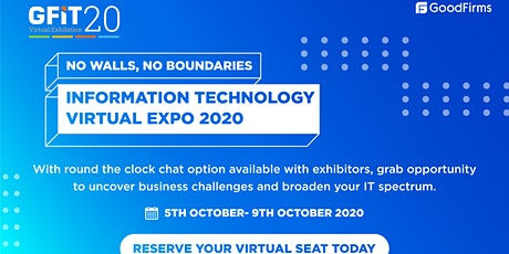 GFiT20- Information Technology Virtual Expo 2020 tickets