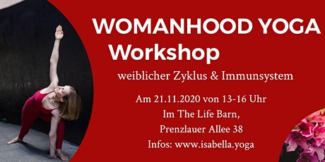 WOMANHOOD WORKSHOP weiblicher Zyklus & Immunsystem Tickets
