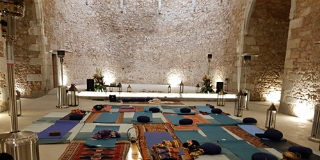 Happy Sunday Session - live Music, Yoga & Meditation in a Monastery tickets