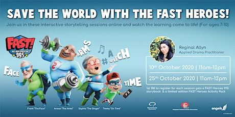 Save the World with the FAST Heroes! tickets