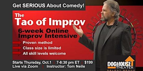 Improv Comedy Classes   Virtual tickets
