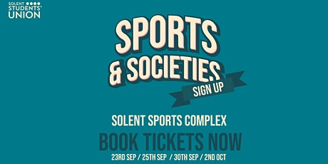 Sports Teams & Societies Sign Up Days tickets