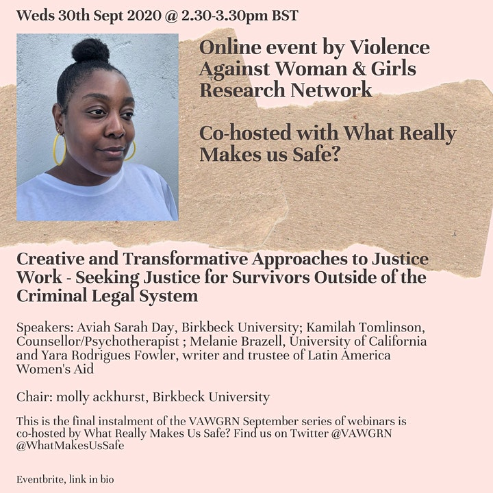 Creative and Transformative Approaches to Justice Work image
