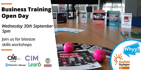 Hybrid Business Training Open Day - 80% minimum funded tickets