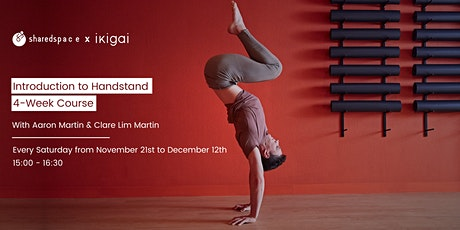 Introduction To Handstand | 4-Week Course #3 tickets