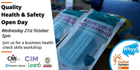 Quality Health & Safety Business Training Open Day - 80% minimum funded tickets