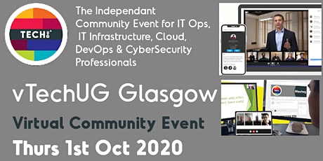 vTechUG Glasgow Virtual Community Event tickets
