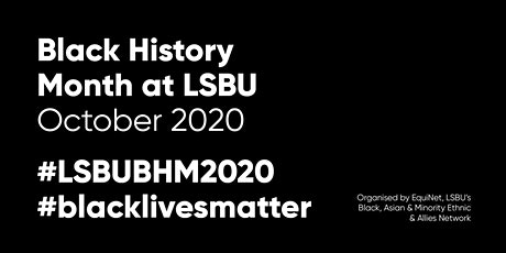 LSBU's Black History Month 2020 Celebration Day tickets