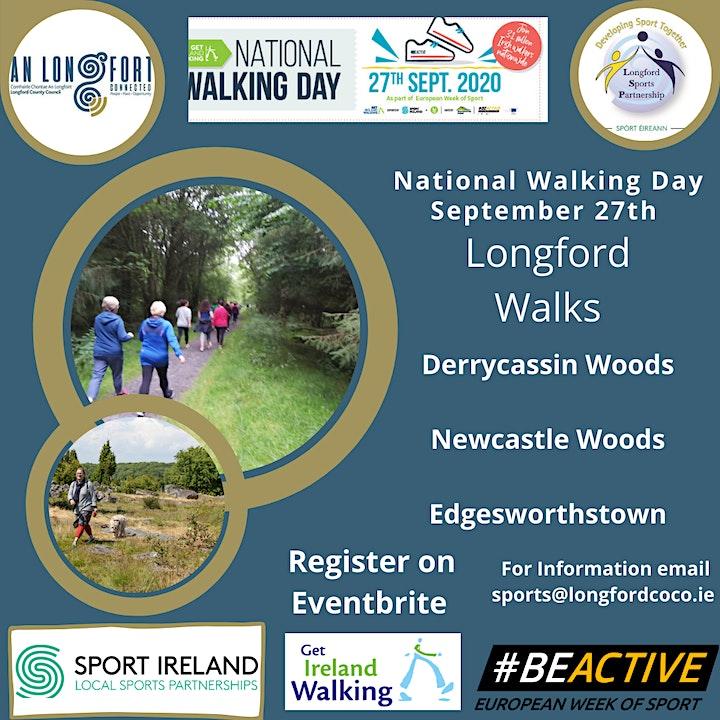 National Walking Day - Longford Walks image