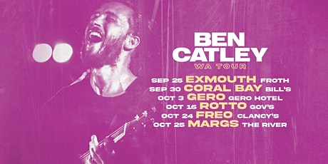Ben Catley FREMANTLE tickets