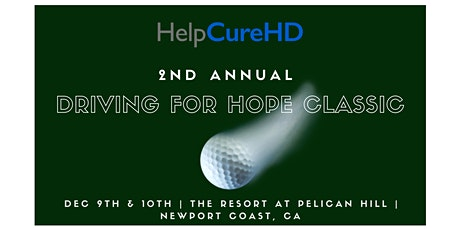 2nd Annual Driving For Hope Classic tickets