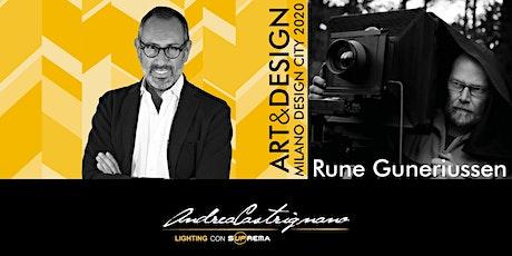 TALK ART&DESIGN | Suprema e Marco Rossi per Rune Guneriussen biglietti