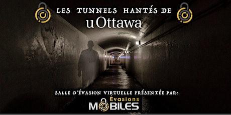 Évasion virtuelle – Les tunnels hantés d'uOttawa – uOttawa Retrouvailles tickets