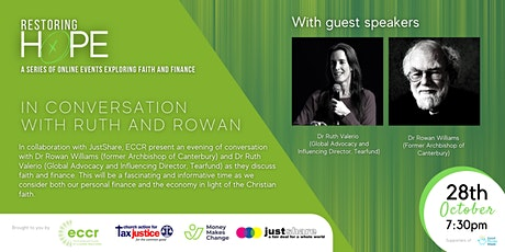 Restoring Hope | In Conversation with Ruth and Rowan tickets