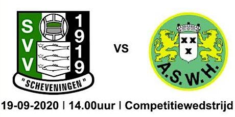 SVV Scheveningen 1 - ASWH 1 tickets