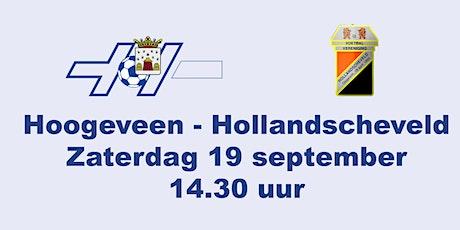 Hoogeveen zaterdag - Hollandscheveld tickets