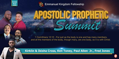 Apostolic Prophetic Summit 2020 tickets