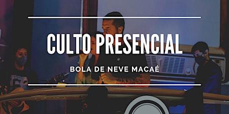 2º Culto BDN Macaé   20/09/2020   18h30 ingressos