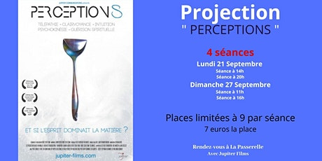 "Cycle - Documentaires pour un monde en transition : "" PERCEPTIONS "" billets"