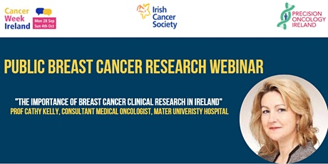 Webinar: The importance of breast cancer clinical research in Ireland tickets