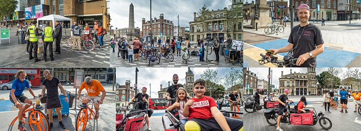 Cycling event in Stratford image