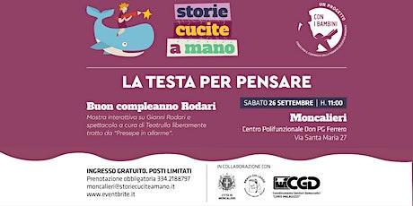 Buon Compleanno Gianni Rodari ~ mostra e spettacolo biglietti