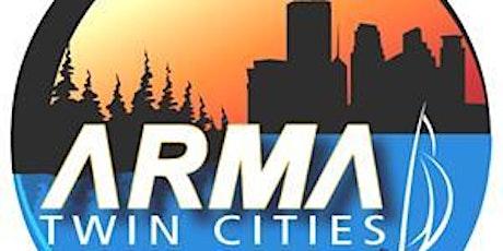 Twin Cities ARMA November 10, 2020 Meeting via Webinar tickets