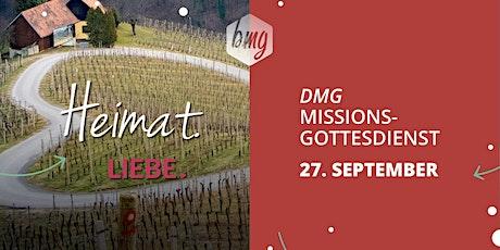 Missions-Gottesdienst am 27.09.2020 in der bmg Leonberg Tickets