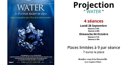 "Cycle - Documentaires pour un monde en transition : "" WATER "" billets"