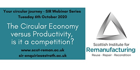 The Circular Economy versus Productivity, is it a competition? tickets